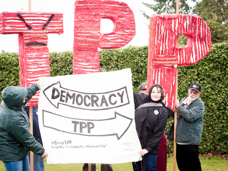On the Unconstitutionality of the TPP Trade Agreement