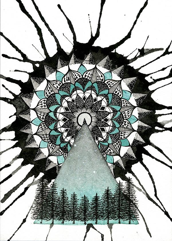Winter's Kaleidoscope