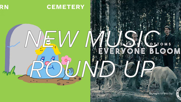 New Music Round Up -  From chill to charged, check out these new tunes!