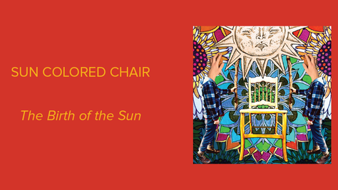 The Birth of the Sun - Sun Colored Chair: Ever-Changing and Intense
