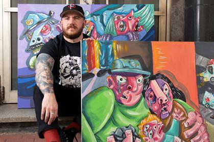 Billy Lyons: Re-Envisioning Memories Through Art