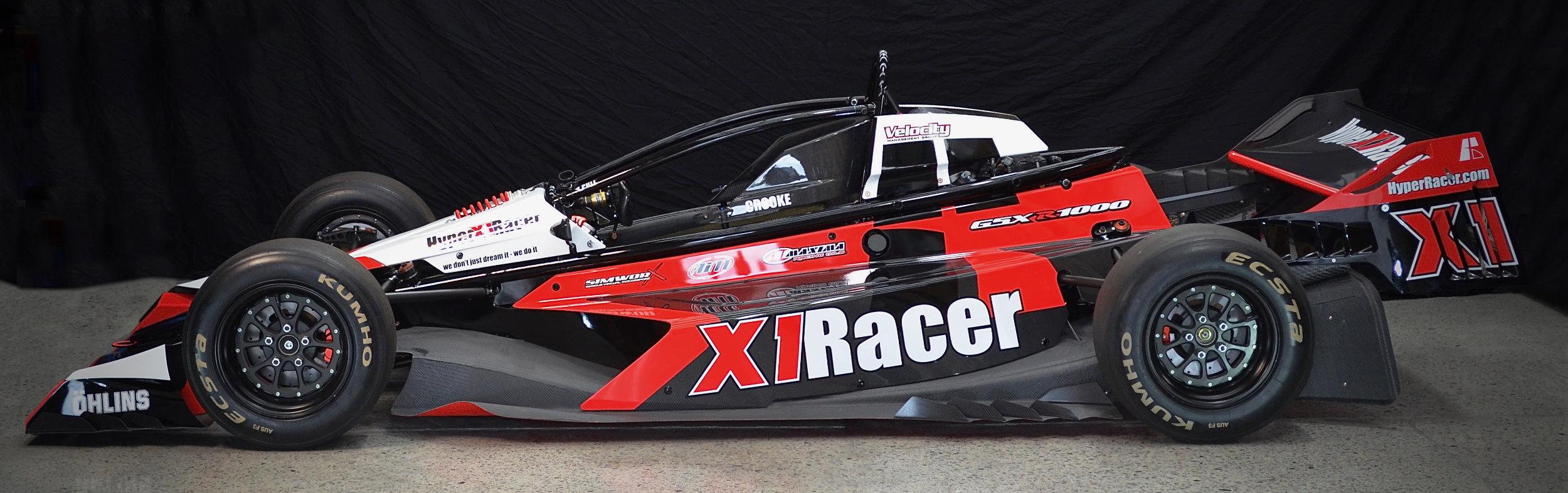 HyperX1Racer side s