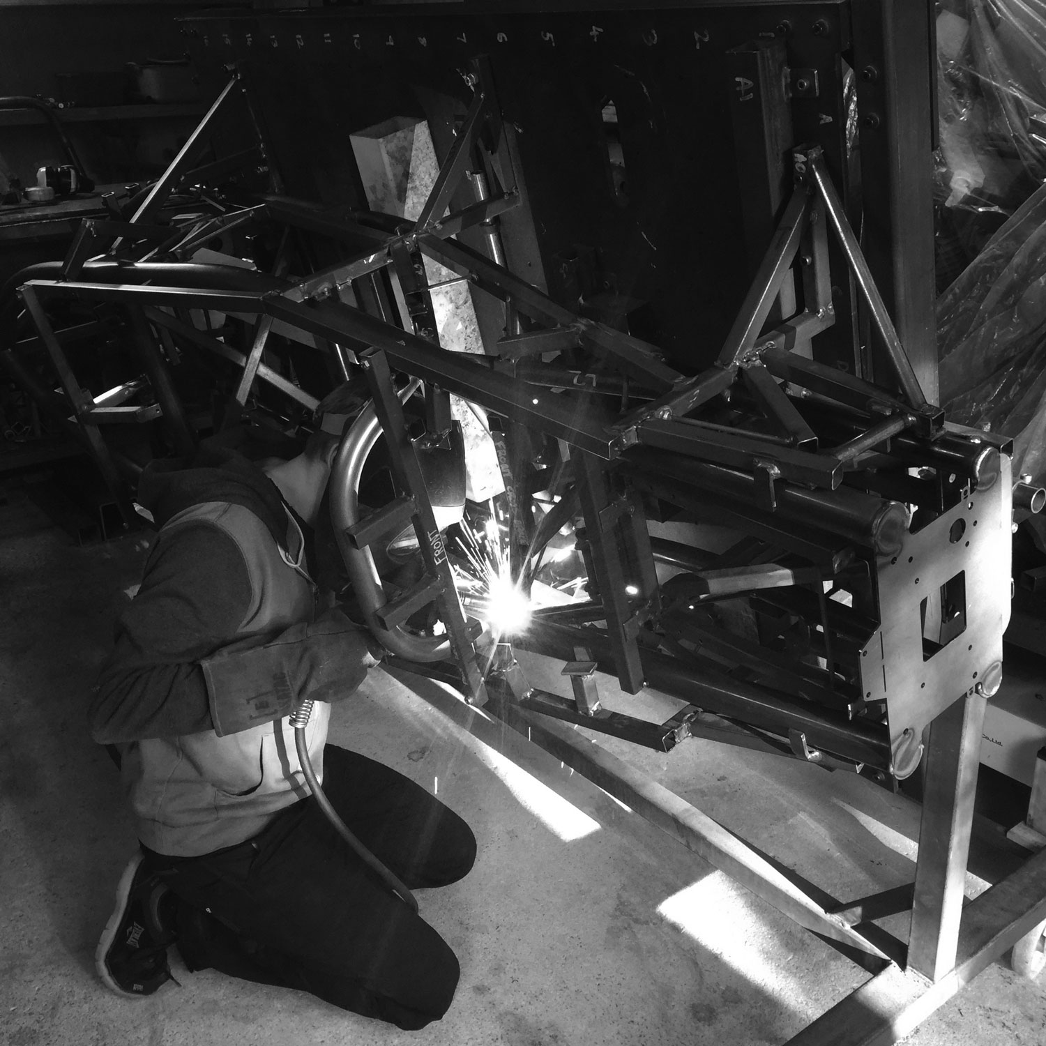 Chassis-weld