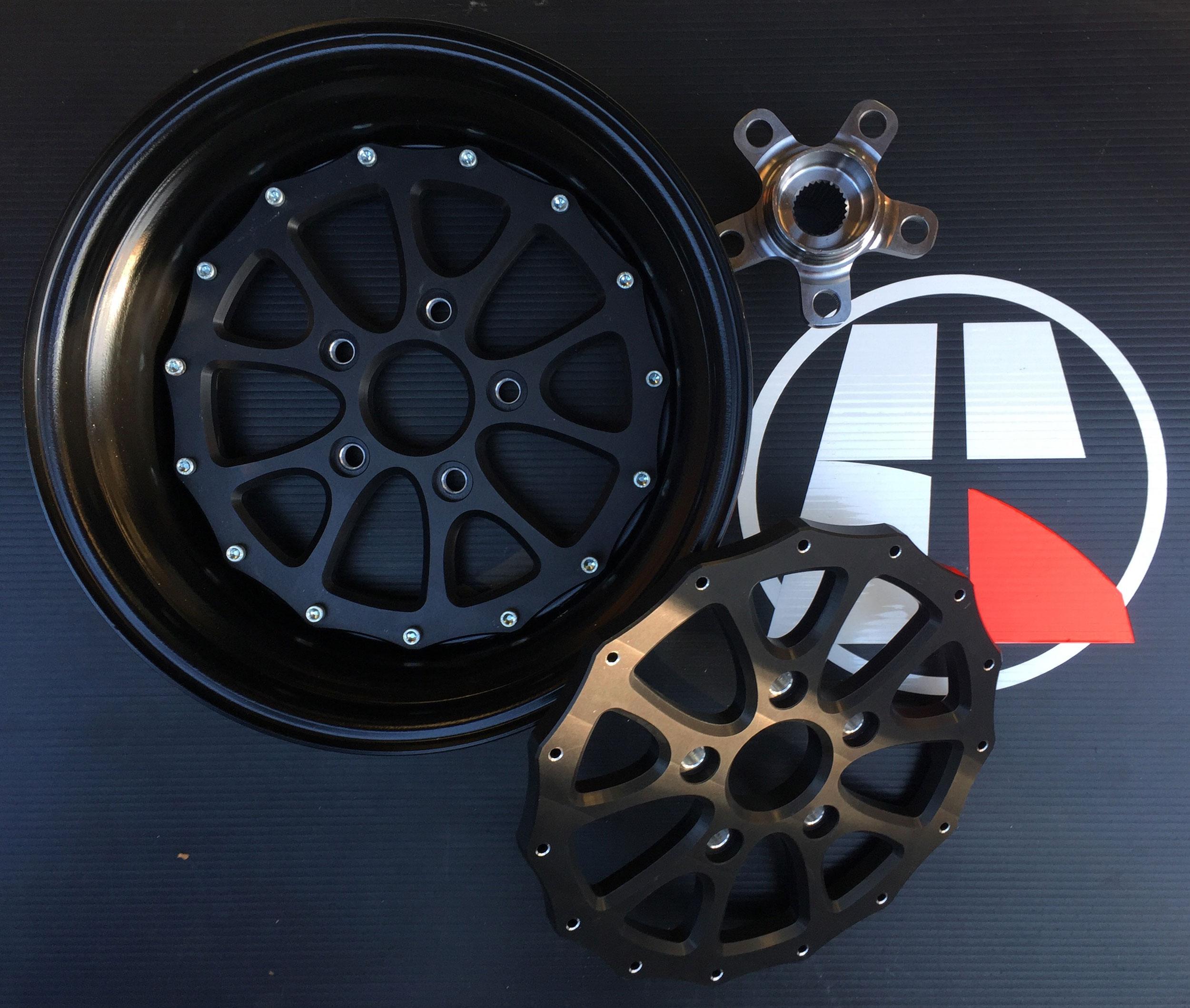 Wheel-and-hub