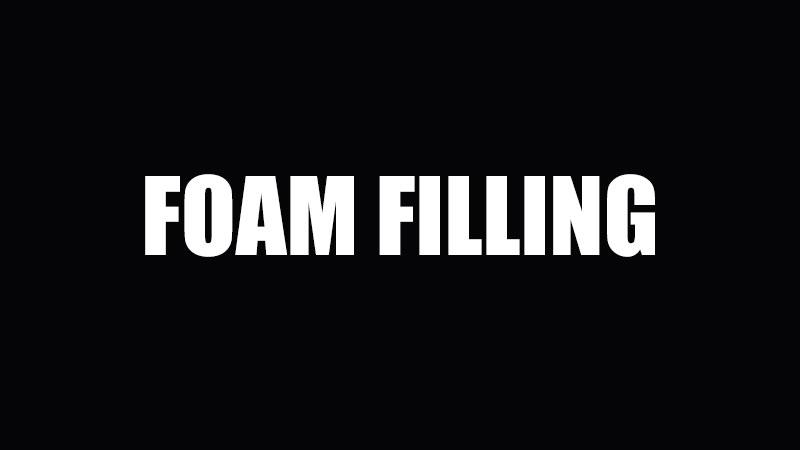 Foam-filling