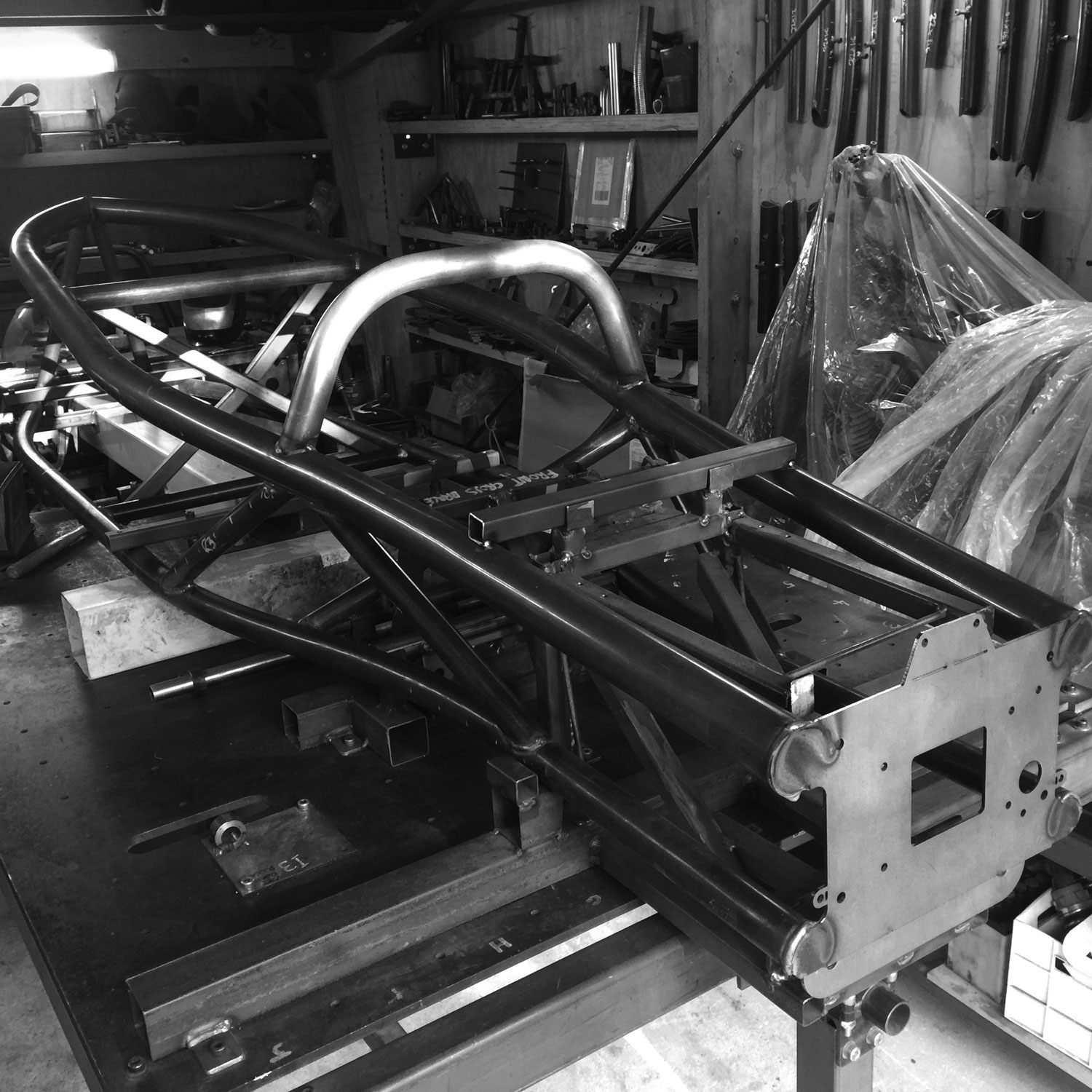 Chassis-on-jig