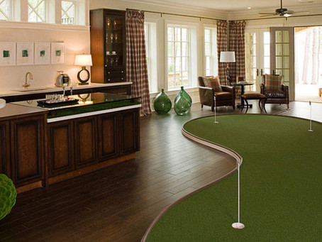 How can SYNLawn of Northeast Ohio help you practice your golf game all year?