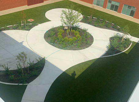 SYNLawn of Northeast Ohio Helps Warrensville Heights Prevent Their Artificial Grass from Melting wit