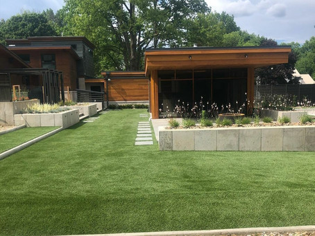 SYNLawn of Northeast Ohio Prevents Muddy Lawns in Kent with Artificial Fescue Installation