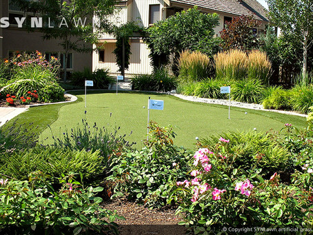 SYNLawn of Northeast Ohio can give you a low-maintenance lawn that survives winter.