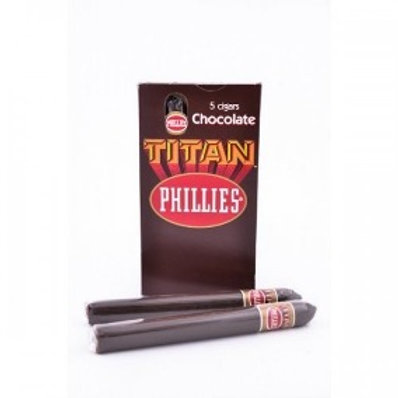 Cigarros en cajas x 5 Phillies Titan Chocolate