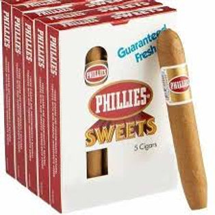 Cigarros en cajas x 5 Phillies Blunt Sweet