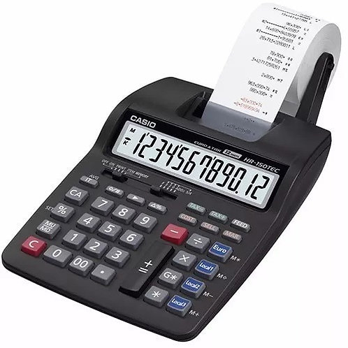 Calculadora Casio Hr-150tm Con Impresora