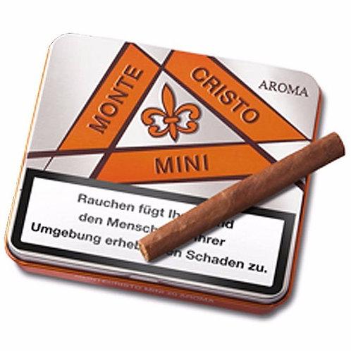 Cigarro Montecristo vainilla en lata x 10