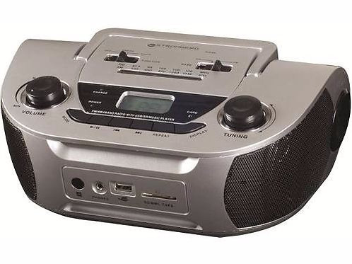Reproductor Stromberg Carlson Ds-06 Usb Sd Am/fm 3.5