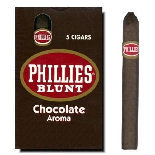 Cigarros en cajas Phillies Cigarrillo Chocolate