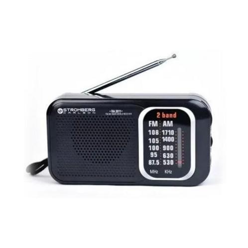 Stromberg Carlson Ra-2011 Radio AM/FM Dual Pilas/220 Speaker