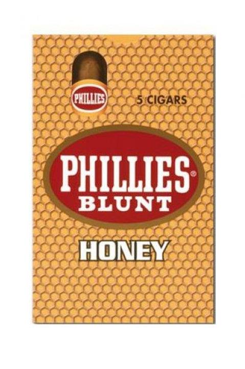 Cigarros en cajas x 5 Phillies Blunt Miel