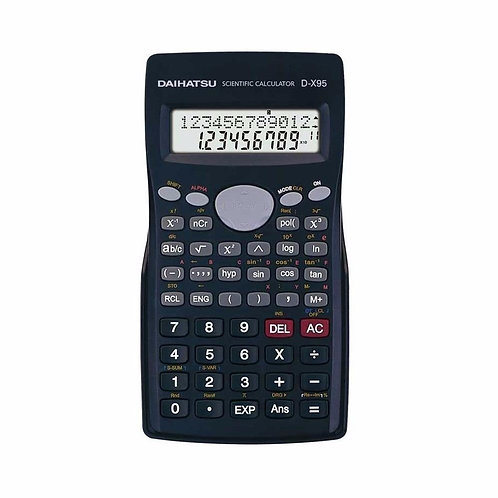 Calculadora Científica Daihatsu D-x95 Ecuaciones Gtia Ofic.