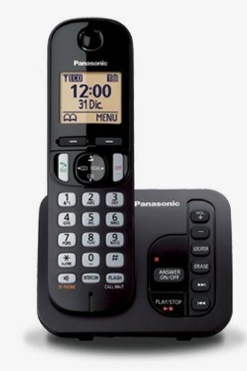 TELÉFONO INALÁMBRICO PANASONIC Kx-tgc220 Altavoz Contestador
