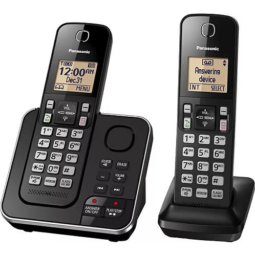 TELÉFONO INALÁBRICO PANASONIC Kx-tgc362 Duo Contestador Manos Libres