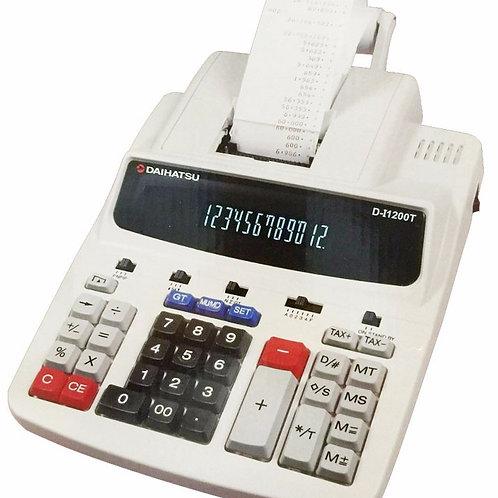 Calculadora Daihatsu Modelo D-i1200t Electrica Con Impresión