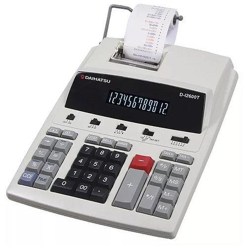 Calculadora Impresora Daihatsu D-i 2600t Con Conexión A 220