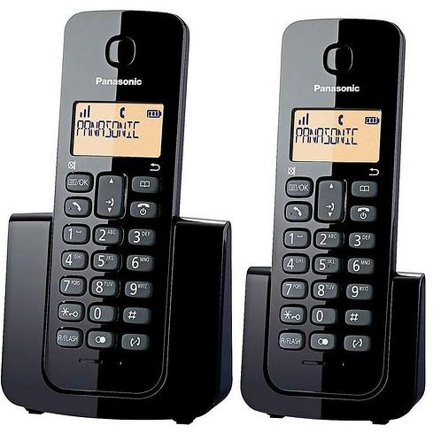 TELÉFONO INALÁMBRICO PANASONIC Duo Kx-tgb112 Base Doble Id