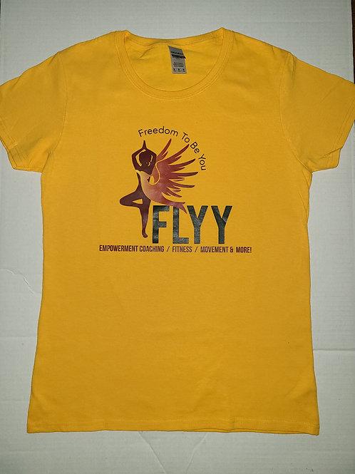 FLYY Yellow Tee