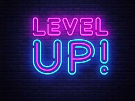 You have to Let Go to Level Up!