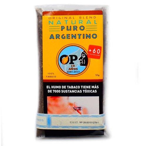Tabaco para armar Puro Argentino Natural – Virginia 30 g