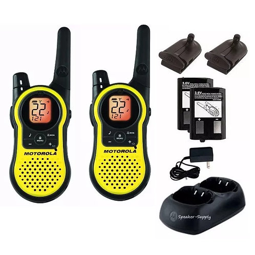 Walkie Talkie Handy Motorola Mh230r 23 Millas 2w