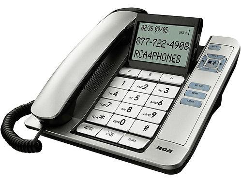 Teléfono De Mesa De Números Grandes Con Visor Y Manos Libres  RCA 1113-1