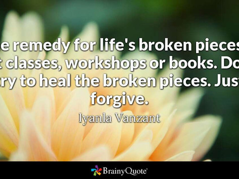 How do we love ourselves to PEACE from broken pieces?