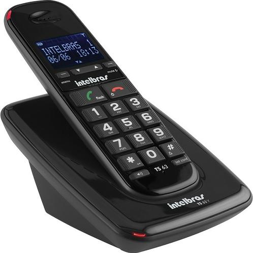 TELÉFONO INALÁMBRICO Intelbras, Botones Grandes-audio Optimizado TS 63 V