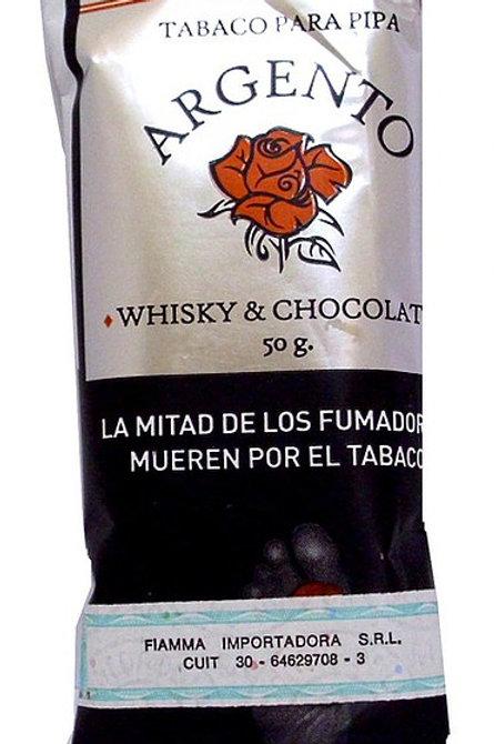 Tabaco para pipa Argento Whisky & Chocolate por 30grs