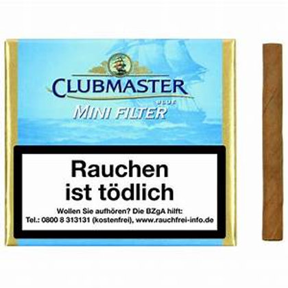 Club Master mini filter blue x 20