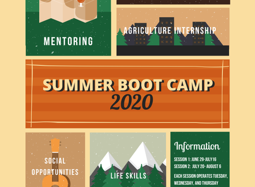 Join us for Summer Boot Camp!