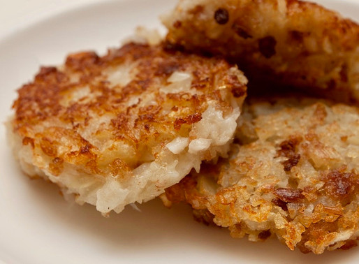 Potato Leek Latkes