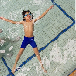Superstar Noah demonstrating his perfect backfloat__hawthornswimclinic #iswimatmarystreet #learntosw