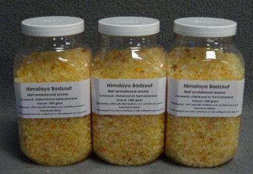 Himalaya zout Sandelwood badzout