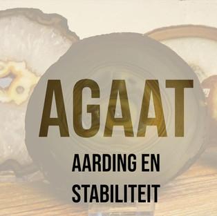 Agaat geeft aarding en stabiliteit
