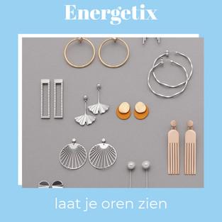 Energetix oorbellen