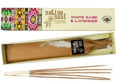 white sage & lavender  (Native Soul) Green Tree