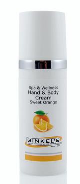 handcrème sweet orange