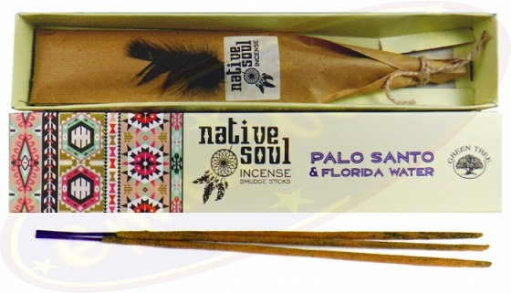 Palo Santo & Florida Water (Native Soul) Green Tree