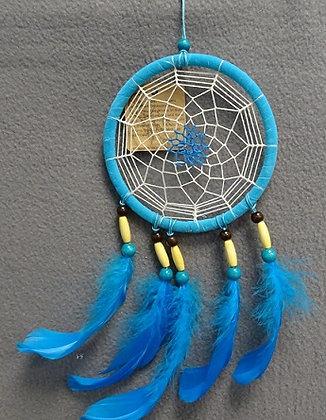 dromenvanger blauw rond