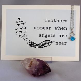 nieuw in de shop: engelkaart