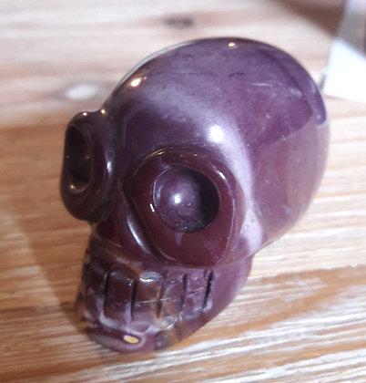 Mokaïet skull