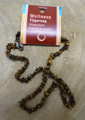 tijgeroog splitketting